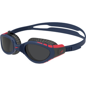 speedo Futura Biofuse Flexiseal Tri Goggles, navy/phoenix red/charcoal